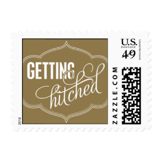 Paris Metro - Getting Hitched - Gold Postage