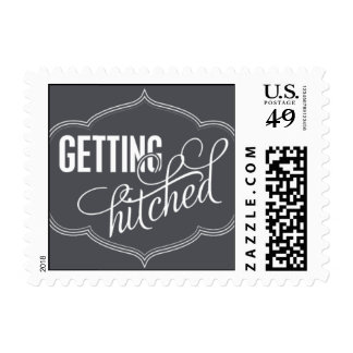 Paris Metro - Getting Hitched - Gray Postage