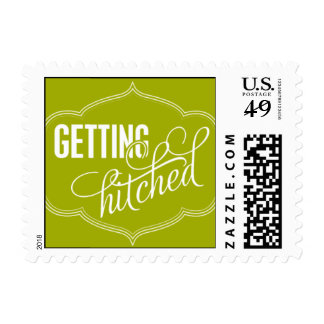 Paris Metro - Getting Hitched - Green Postage
