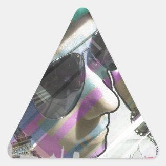 Paris Model Triangle Sticker