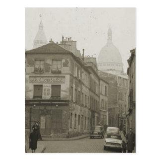 Paris, Montmatre Postcard