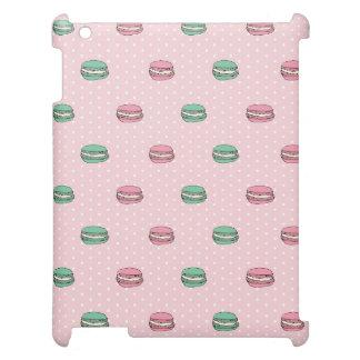 Paris Moon Macaron and polkadots Case For The iPad