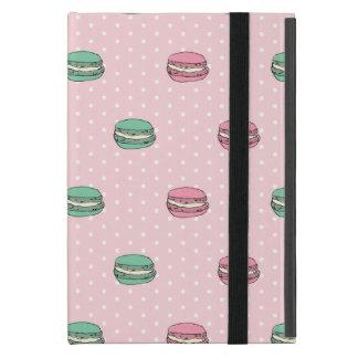 Paris Moon Macaron and polkadots iPad Mini Case