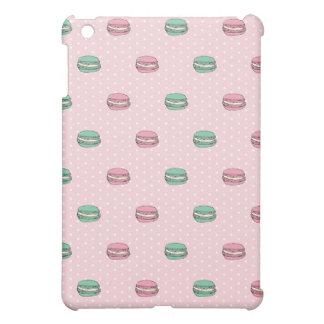 Paris Moon Macaron and polkadots iPad Mini Cover