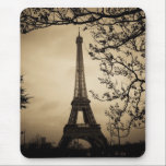 "Paris Mouse Pad<br><div class=""desc"">Antique style picture of the Eiffel Tower in Paris,  France</div>"
