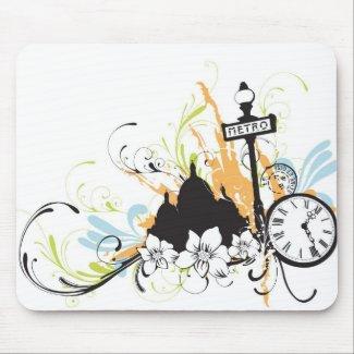 Paris Mousepad mousepad