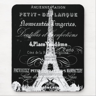 Paris Mousepad Black