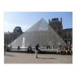 París - mus�e del Louvre - Postal