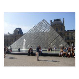 Paris - mus�e of Louvre - Postcard