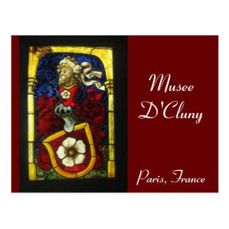 Paris - Musee de Cluny Postcard