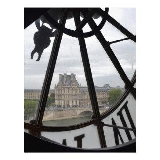 Paris- Musee de Orsay Clock_ jpg Letterhead Template