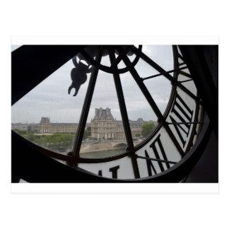 París Musee de Orsay Clock_.jpg Tarjetas Postales