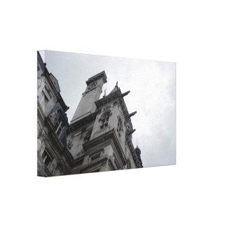 Paris Neoclassical Architecture Stretched Canvas Prints