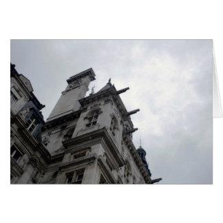 Paris Neoclassical Architecture Card
