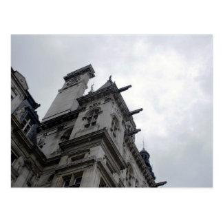 Paris Neoclassical Architecture Postcard