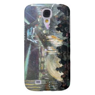 Paris Night Fred Money Painting Galaxy S4 Case