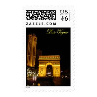 paris night Las Vegas Stamps