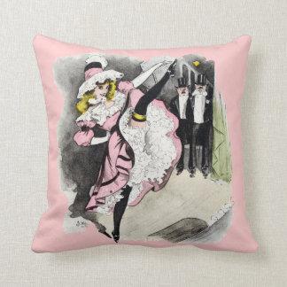 Paris Nightlife no.1 Throw Pillow