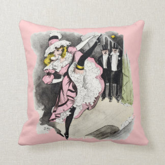 Paris Nightlife no.1 Throw Pillows