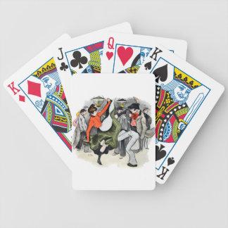 Paris Nightlife no. 2 Bicycle Playing Cards
