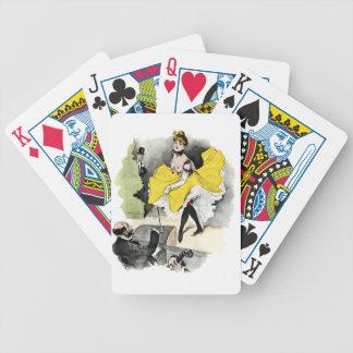 Paris Nightlife no.3 Bicycle Playing Cards