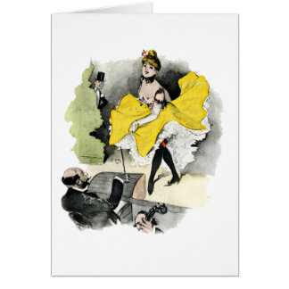 Paris Nightlife no.3 Card
