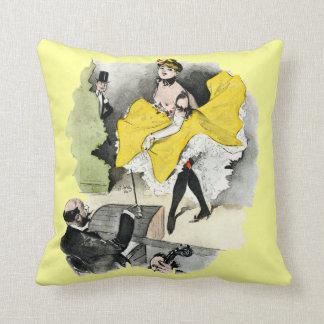 Paris Nightlife no.3 Throw Pillow