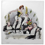 Paris Nightlife No.6 Napkin at Zazzle