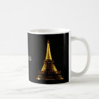 Paris Nights Classic White Coffee Mug
