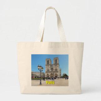 PARÍS Notre Dame Bolsa Tela Grande