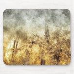 Paris Notre-Dame Cathedral Mouse Pad