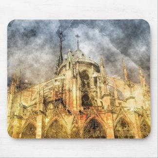 Paris - Notre-Dame Cathedral Mouse Pad