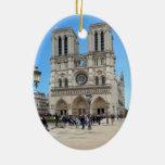 PARIS Notre Dame Ceramic Oval Decoration