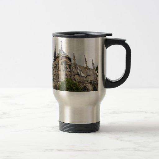 Paris-Notre Dame Flying Buttresses.jpg 15 Oz Stainless Steel Travel Mug