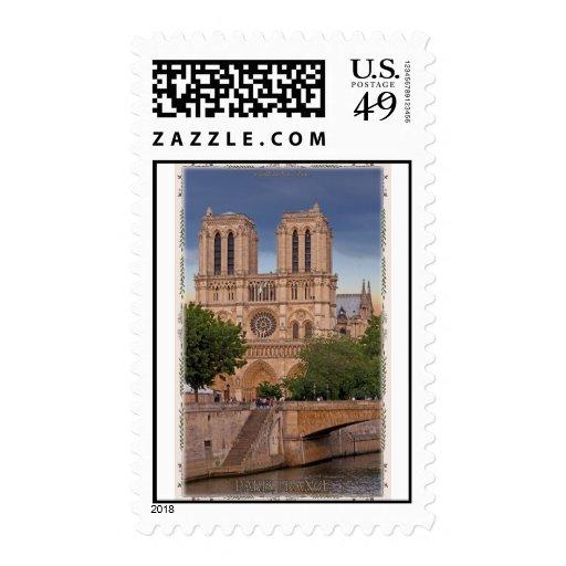 Paris - Notre Dame Postage