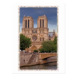 Paris - Notre Dame Postcard