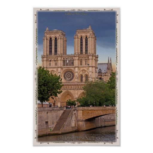 Paris - Notre Dame Poster