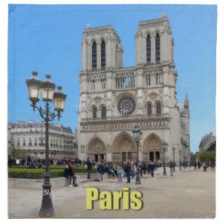 PARÍS Notre Dame Servilleta De Papel