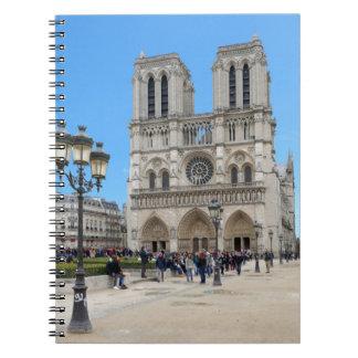 PARÍS Notre Dame Spiral Notebooks