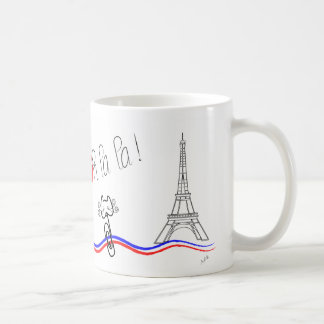 Paris, Oh la la! Le chat Coffee Mug
