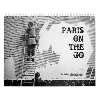 Paris On The Go Calendar