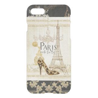 Paris ooh la  Fashion Eiffel Tower Chandelier iPhone 7 Case