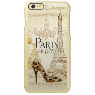 Paris ooh la la Fashion Eiffel Tower Chandelier Incipio Feather Shine iPhone 6 Plus Case