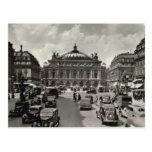 París, Opera, 1930 Tarjetas Postales