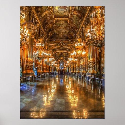 Paris Opera House Print