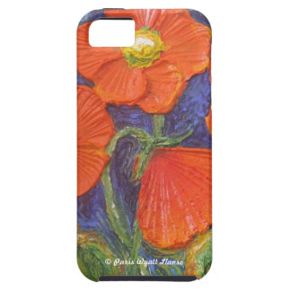 Paris' Orange Poppies iPhone 5 Case