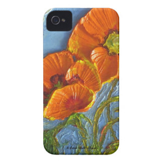 Paris' Orange Poppy Blackberry Bold Case