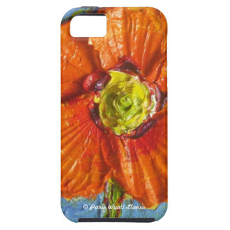Paris' Orange Poppy iPhone 5 Case