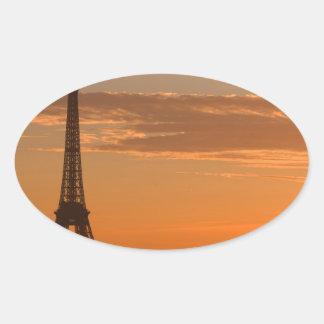 Paris Oval Sticker