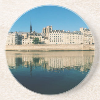 Paris Panorama - Ile Saint Louis Sandstone Coaster